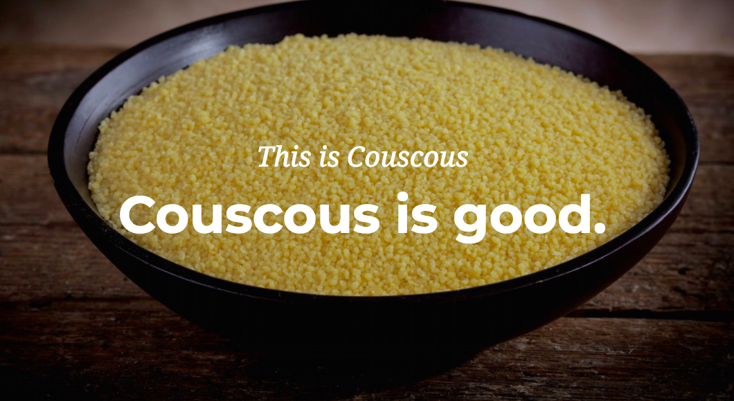 This is couscous